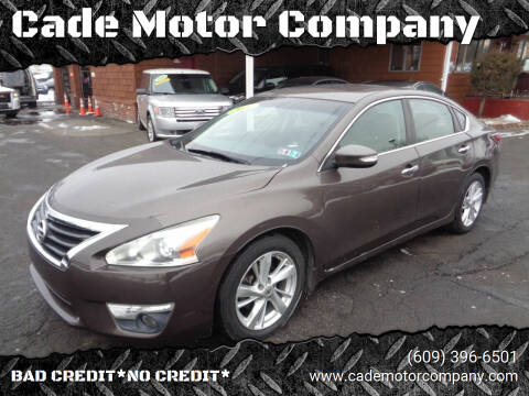 2014 Nissan Altima for sale at Cade Motor Company in Lawrenceville NJ