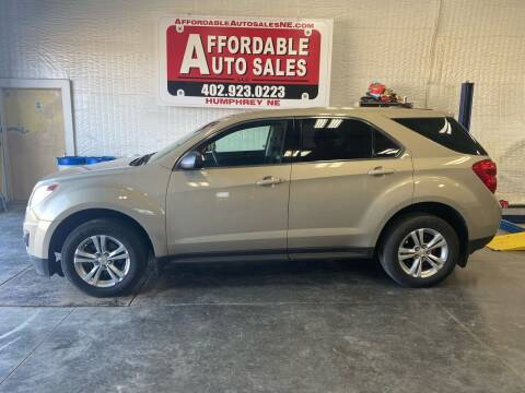 2012 Chevrolet Equinox for sale at Affordable Auto Sales in Humphrey NE