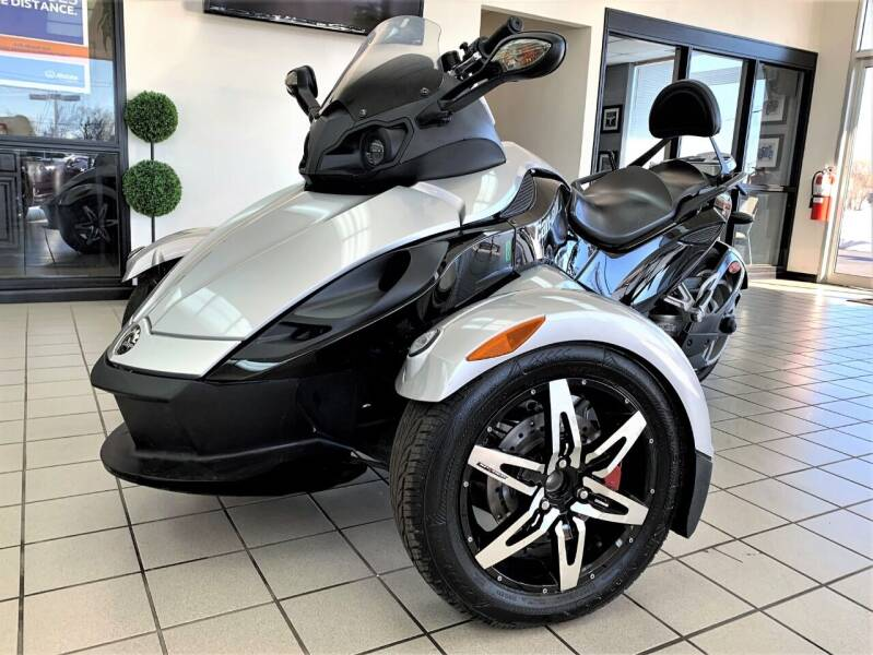 2009 Can-Am Spyder for sale at SAINT CHARLES MOTORCARS in Saint Charles IL