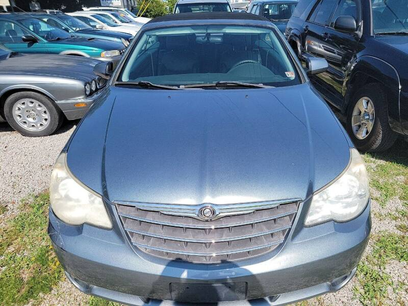 2010 Chrysler Sebring for sale at Wally's Cars ,LLC. in Morehead City NC