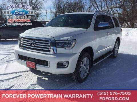 2021 Toyota Sequoia for sale at Fort Dodge Ford Lincoln Toyota in Fort Dodge IA