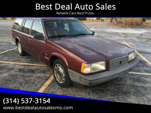 1990 Volvo 740 for sale at Best Deal Auto Sales in Saint Charles MO