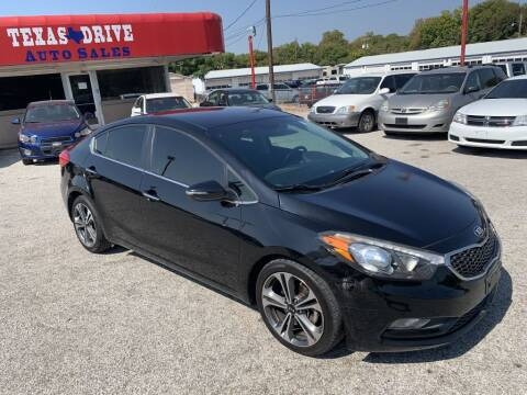 2015 Kia Forte for sale at Texas Drive LLC in Garland TX