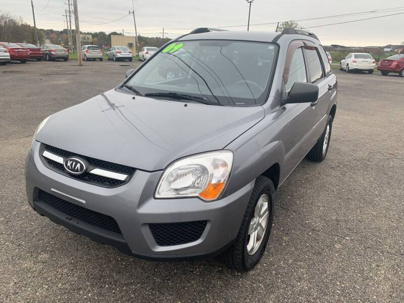 2009 Kia Sportage for sale at Carmans Used Cars & Trucks in Jackson OH