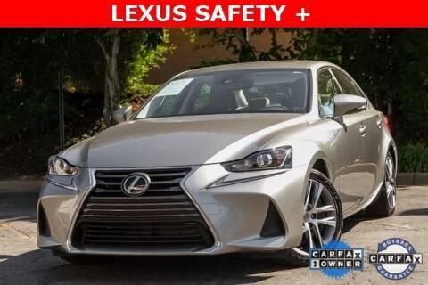 2018 Lexus IS 300 for sale at Gravity Autos Atlanta in Atlanta GA