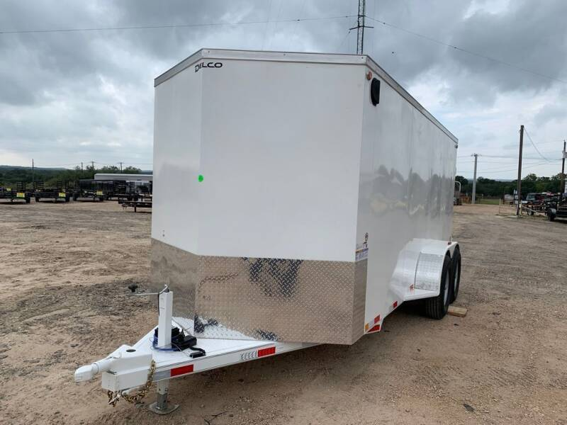 2022 DELCO  - CARGO6'.8'' X 16'-CARGO - S for sale at LJD Sales in Lampasas TX