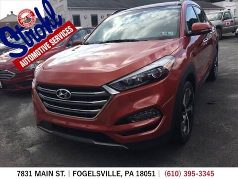 2016 Hyundai Tucson for sale at Strohl Automotive Services in Fogelsville PA