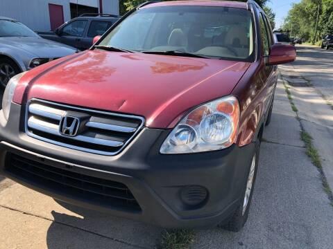 2005 Honda CR-V for sale at ABC Motors in Wyoming MI