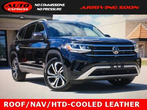 2021 Volkswagen Atlas for sale at Auto Express in Lafayette IN