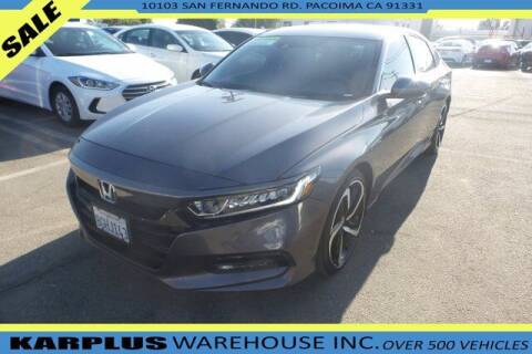 2018 Honda Accord for sale at Karplus Warehouse in Pacoima CA