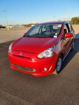 2015 Mitsubishi Mirage for sale at American Family Auto LLC in Bude MS
