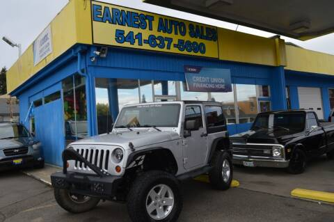 2011 Jeep Wrangler for sale at Earnest Auto Sales in Roseburg OR