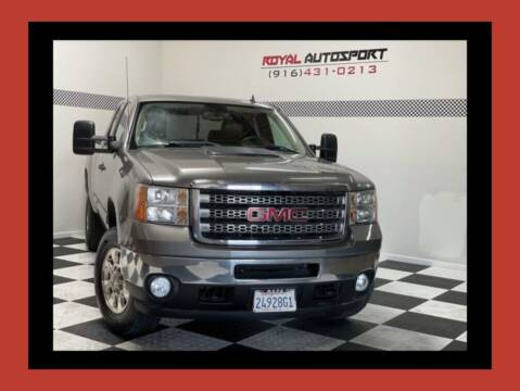 2012 GMC Sierra 2500HD for sale at Royal AutoSport in Sacramento CA