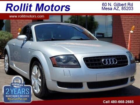 2004 Audi TT for sale at Rollit Motors in Mesa AZ
