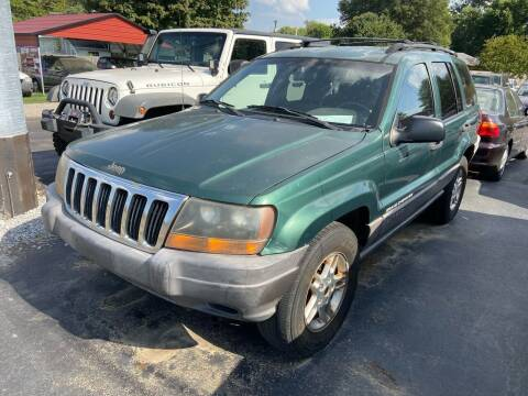 1999 Jeep Grand Cherokee for sale at Sartins Auto Sales in Dyersburg TN