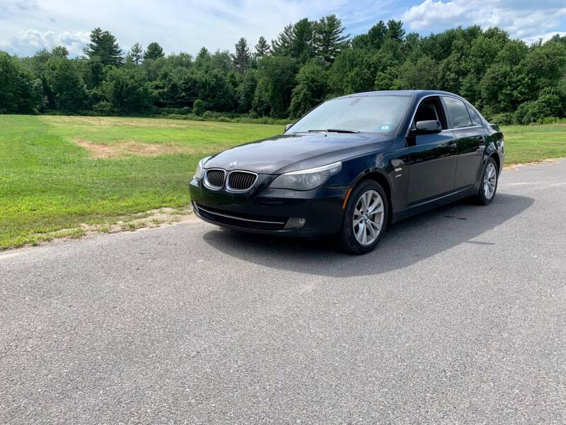 2010 BMW 5 Series for sale at ds motorsports LLC in Hudson NH