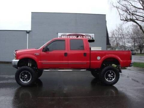 2000 Ford F-250 Super Duty for sale at Motion Autos in Longview WA