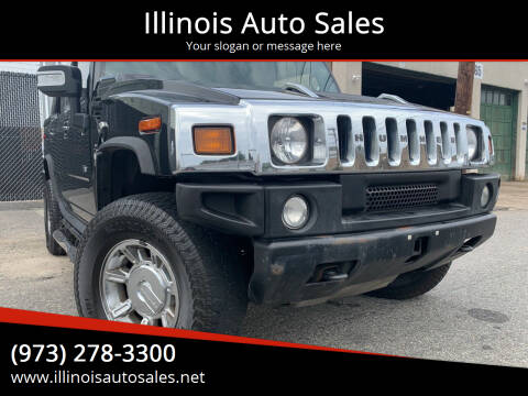 2007 HUMMER H2 SUT for sale at Illinois Auto Sales in Paterson NJ