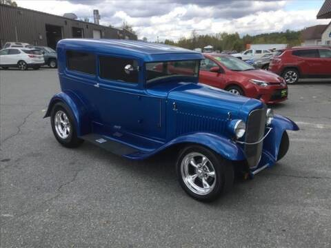 1931 Ford SEDAN for sale at SHAKER VALLEY AUTO SALES in Enfield NH