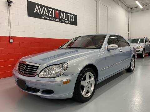 2005 Mercedes-Benz S-Class for sale at AVAZI AUTO GROUP LLC in Gaithersburg MD