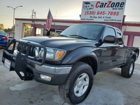 2003 Toyota Tacoma for sale at CarZone in Marysville CA