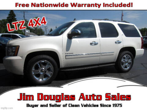 2010 Chevrolet Tahoe for sale at Jim Douglas Auto Sales in Pontiac MI