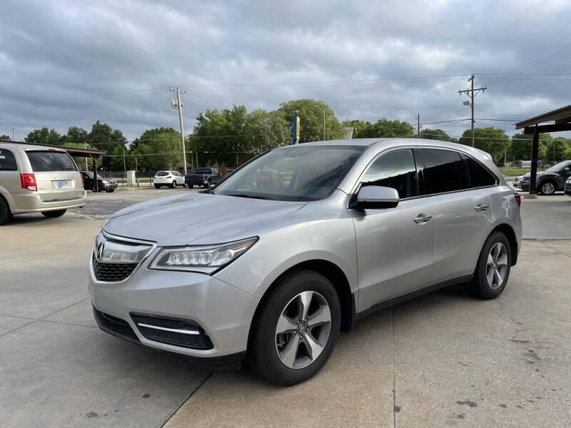 2015 Acura MDX for sale at Kansas Auto Sales in Wichita KS