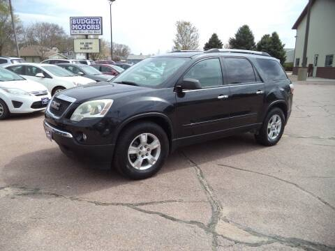 2010 GMC Acadia for sale at Budget Motors in Sioux City IA
