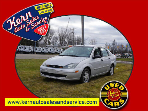 2003 Ford Focus for sale at Kern Auto Sales & Service LLC in Chelsea MI