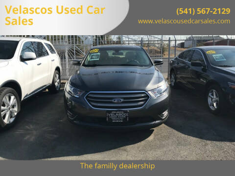 2016 Ford Taurus for sale at Velascos Used Car Sales in Hermiston OR