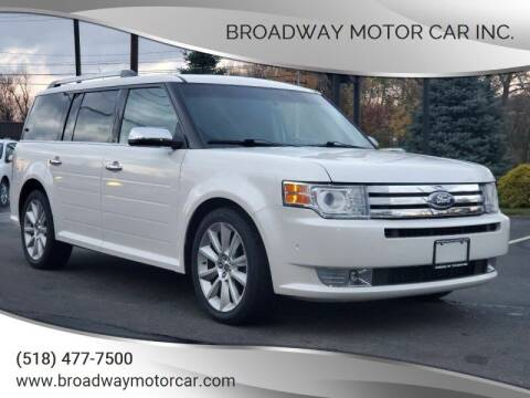 2011 Ford Flex for sale at Broadway Motor Car Inc. in Rensselaer NY
