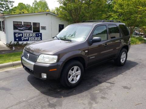 2006 Mercury Mariner Hybrid for sale at TR MOTORS in Gastonia NC
