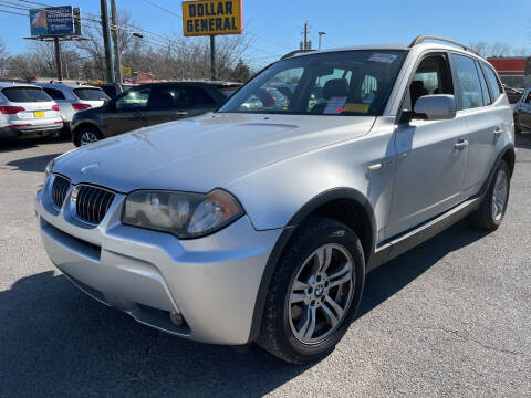 2006 BMW X3 for sale at Diana Rico LLC in Dalton GA