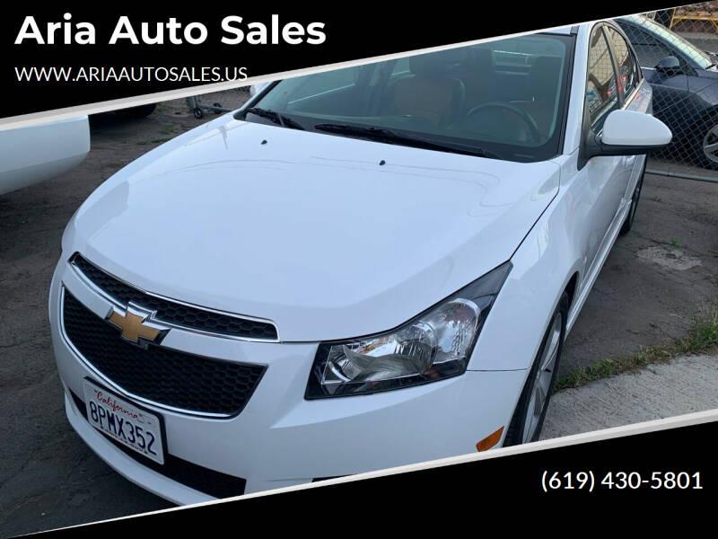 2014 Chevrolet Cruze for sale at Aria Auto Sales in El Cajon CA