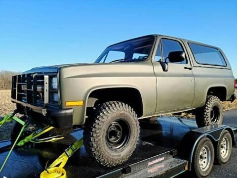 1986 Chevrolet Blazer for sale at Classic Car Deals in Cadillac MI