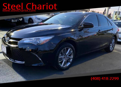 2017 Toyota Camry for sale at Steel Chariot in San Jose CA