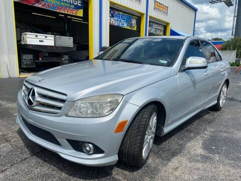 2009 Mercedes-Benz C-Class for sale at RoMicco Cars and Trucks in Tampa FL