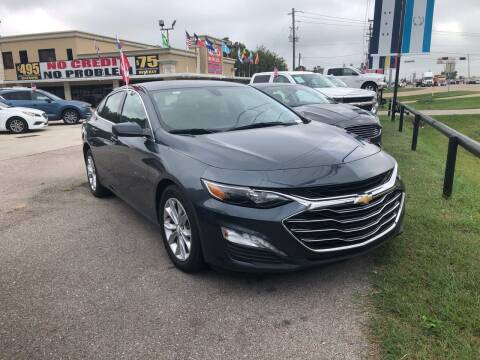 2019 Chevrolet Malibu for sale at FREDY CARS FOR LESS in Houston TX