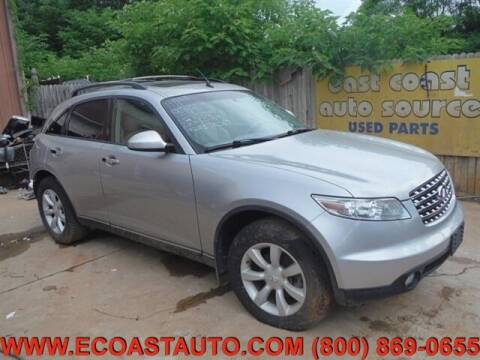 2005 Infiniti FX35 for sale at East Coast Auto Source Inc. in Bedford VA
