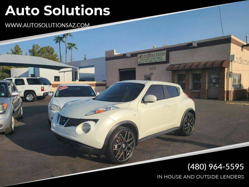 2011 Nissan JUKE for sale at Auto Solutions in Mesa AZ