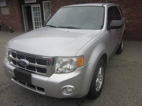 2011 Ford Escape for sale at Tewksbury Used Cars in Tewksbury MA