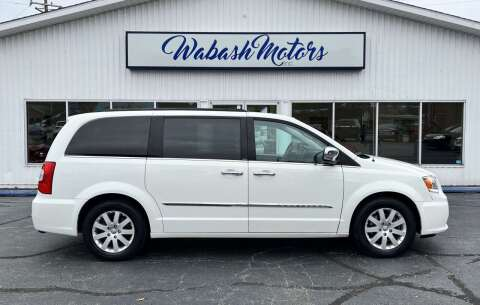 2012 Chrysler Town and Country for sale at Wabash Motors in Terre Haute IN