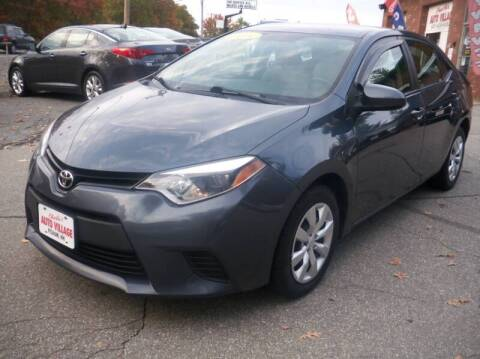 2014 Toyota Corolla for sale at Charlies Auto Village in Pelham NH