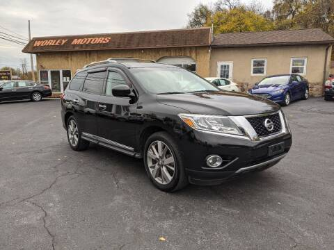 2013 Nissan Pathfinder for sale at Worley Motors in Enola PA