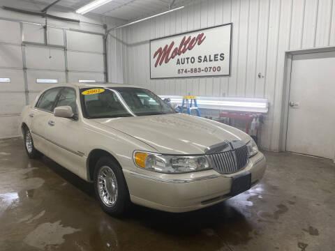 2002 Lincoln Town Car for sale at MOLTER AUTO SALES in Monticello IN
