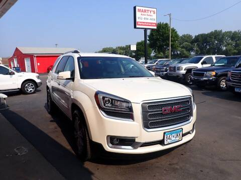 2013 GMC Acadia for sale at Marty's Auto Sales in Savage MN