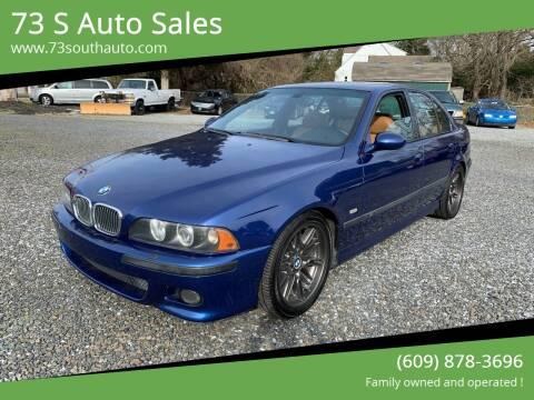 2002 BMW M5 for sale at 73 S Auto Sales in Hammonton NJ