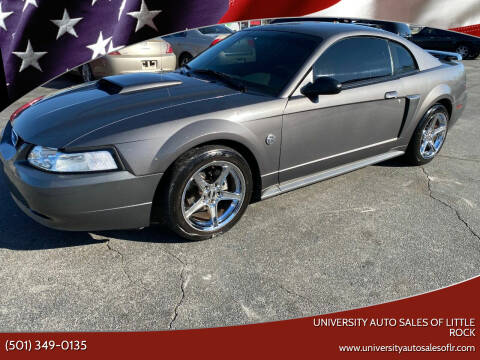 2004 Ford Mustang for sale at University Auto Sales of Little Rock in Little Rock AR