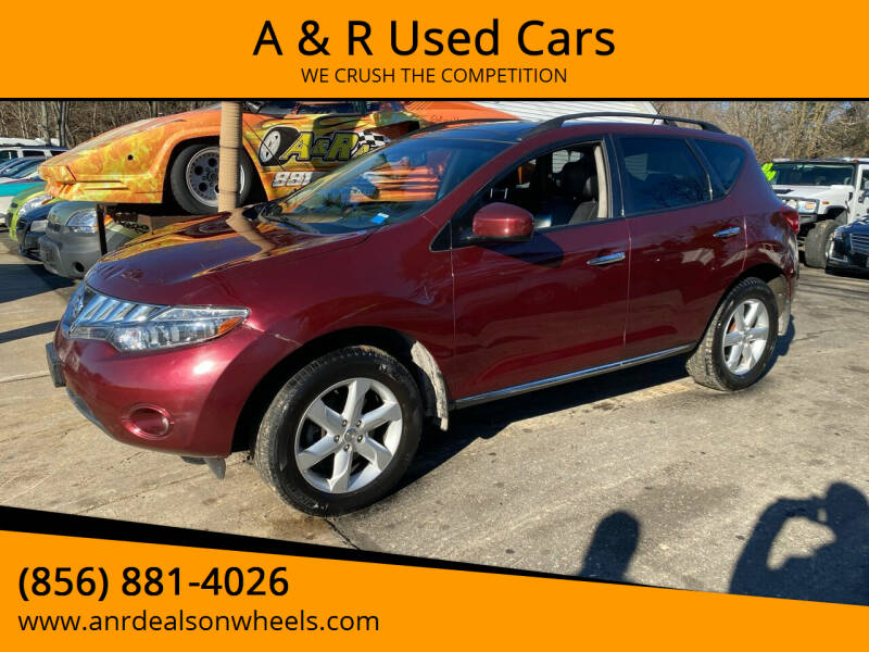 2010 Nissan Murano for sale at A & R Used Cars in Clayton NJ