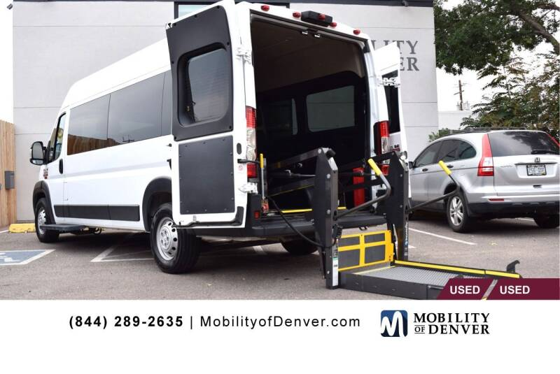 2018 RAM ProMaster Window for sale at CO Fleet & Mobility in Denver CO